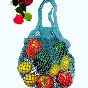 Cotton Mesh Reusable Shopping Bag